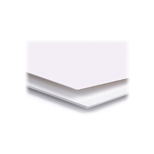 """Archival Methods 5 x 7"""" 4-Ply Cotton Museum Board Pack (Polar White)"""