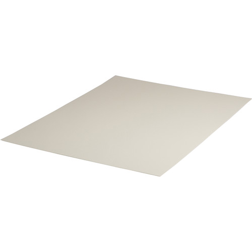 """Archival Methods 2-Ply Pearl White Conservation Mat Board (13 x 19"""", 25 Boards)"""