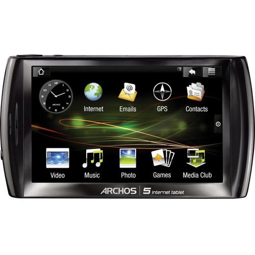 Archos ARCHOS 5 Internet Tablet (Black)