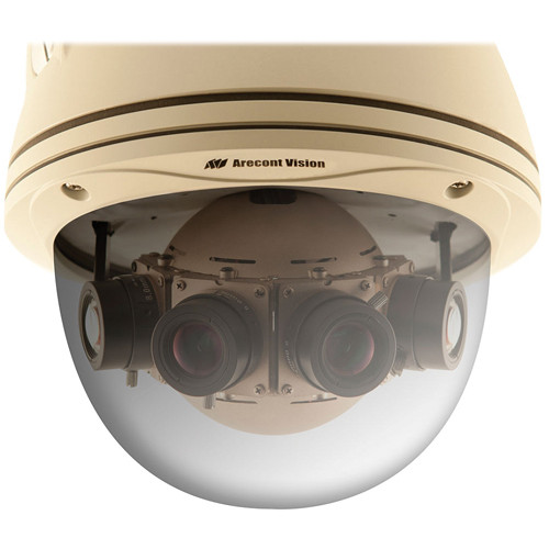 Arecont Vision SurroundVideo Series 8MP Outdoor Dome Camera with 4 Sensors and Heater