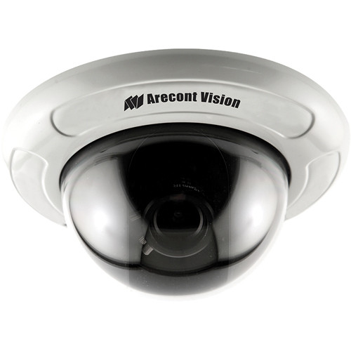 "Arecont Vision D4F-AV5115DN-3312 4"" In-Ceiling Mount Dome Camera (3.3 to 12mm Lens)"