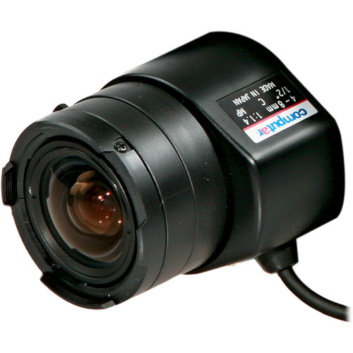 "Arecont Vision HG2Z0414FC-MP Computar 1/2"" C Mount 4-8mm f/1.4 Lens for Megapixel Camera"
