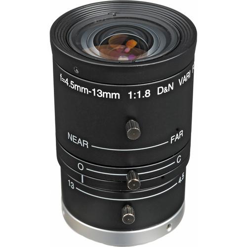 "Arecont Vision LENS4-13 1/2"" CS Mount 4.5-13mm f/1.8 Varifocal Lens for Megapixel Camera (IR)"