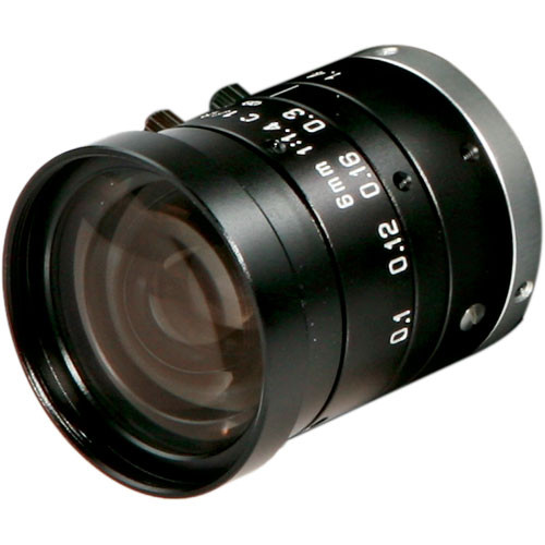 "Arecont Vision LENS6.0  1/2"" CS Mount 6mm f/1.4 Lens for Megapixel Camera"