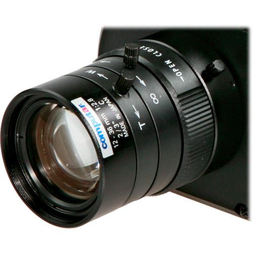 """Arecont Vision M3Z1228C-MP  Computar  2/3"""" C Mount 12-36mm f/2.8 Varifocal Lens for Megapixel Camera"""