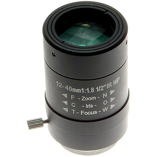 Arecont Vision CS-Mount 12 to 40mm Varifocal Megapixel Lens