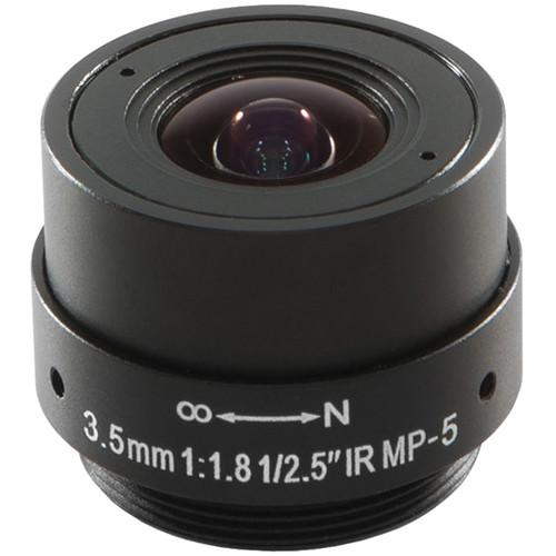 Arecont Vision CS-Mount 3.5mm Fixed Focal Megapixel Lens