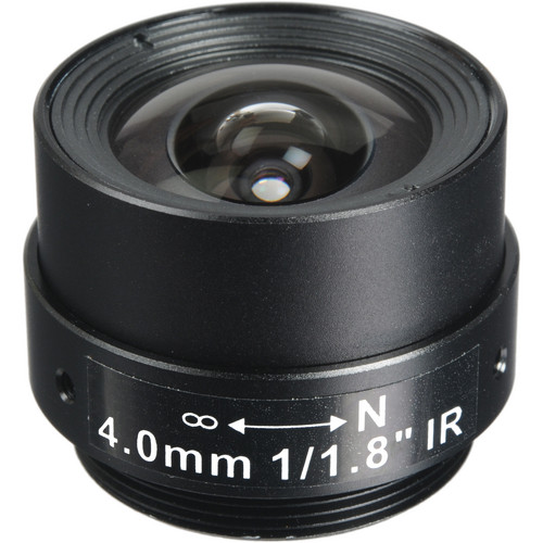 Arecont Vision CS-Mount 4.0mm Fixed Focal Megapixel Lens