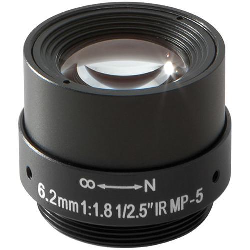 Arecont Vision CS-Mount 6.2mm Fixed Focal Megapixel Lens