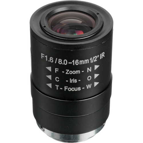 Arecont Vision CS-Mount 8 to 16mm Varifocal Megapixel Lens