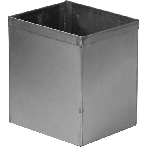 """Arkay 45-2 Stainless Steel Cut Film Developing Tank for 12 - 4x5"""" Sheets"""