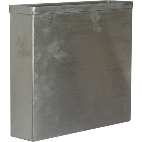 "Arkay 81-14 Stainless Steel Cut Film Developing Tank for 18 - 8x10"" Sheets"