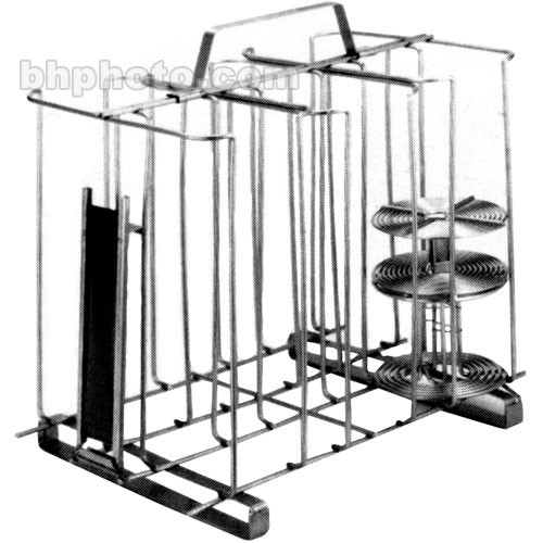 Arkay 81-8RR Stainless Steel Reel Rack for 15-35mm or 9-120 Film