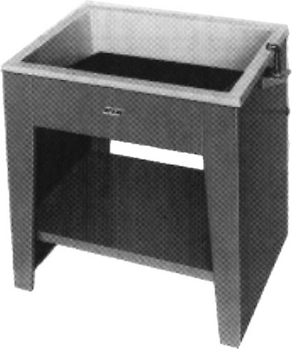 Arkay Dual Purpose Fiberglass Sink - 42x31""