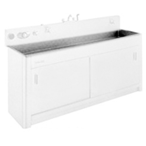 """Arkay Premium Stainless Steel Photo Processing Sink Series S (24x72x10"""")"""