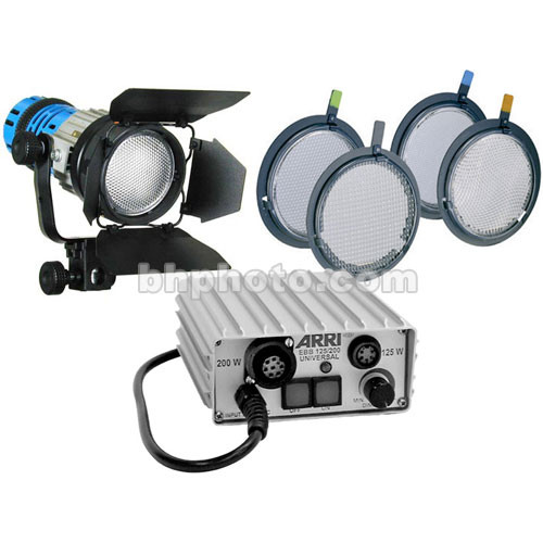 ARRI 125W Pocket Par HMI DC Light Kit (24-34V DC)
