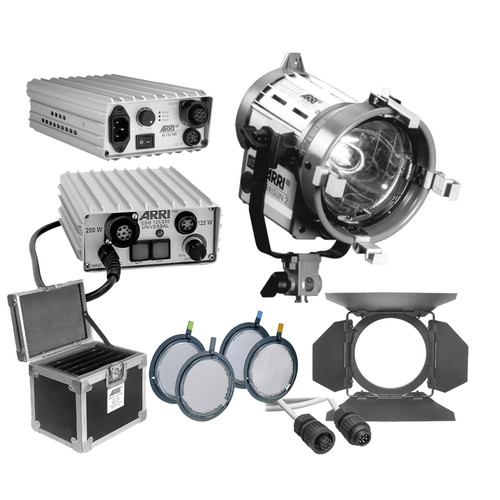 ARRI Arrisun 2 HMI PAR One Light Kit (90-250VAC/24-30VDC)