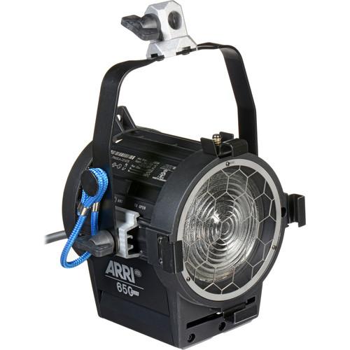 ARRI 650 Watt Plus Fresnel Tungsten Light - Black (120-240V AC)