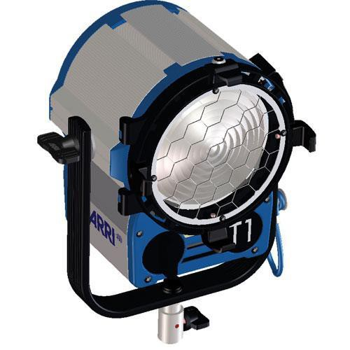 ARRI T1 Location Fresnel - 1000 Watts, Stand Mount (Black) (120-240VAC)