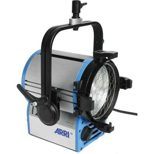 ARRI T1 1000W Location Fresnel with Hanging Mount (Black, 120-240 VAC)