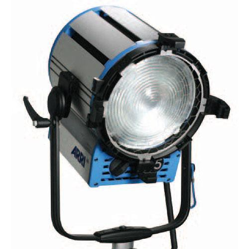 Arri T5 Location Fresnel - 5000 Watts, Stand Mount - Black (120-230VAC)