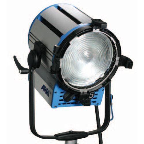 Arri T5 Location Fresnel - 5000 Watts, Stand Mount - Black (120-230VAC)
