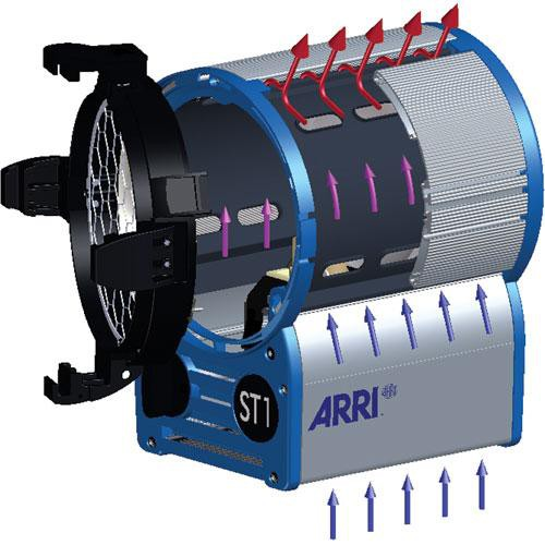 ARRI ST1 Studio 1Kw Fresnel, Stand Mount (120-230VAC)