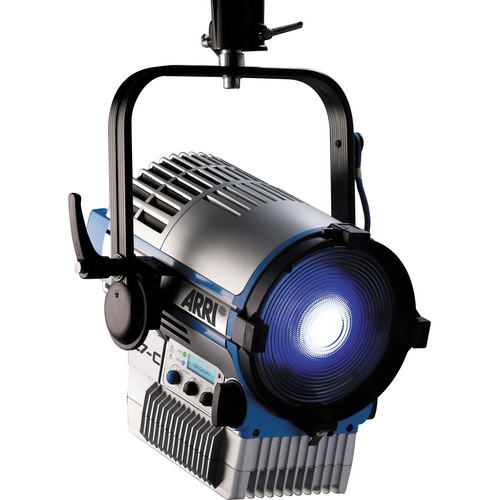 Arri L7-C Color LED Fresnel (Silver/Blue, Pole Operated)