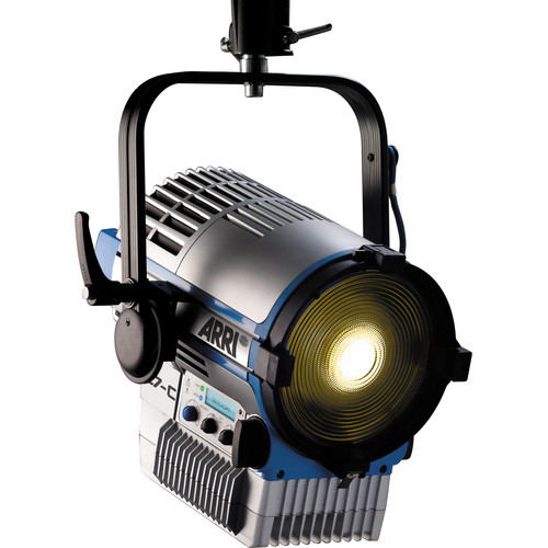 Arri L7-T Tungsten LED Fresnel (Silver/Blue, Pole Operated)