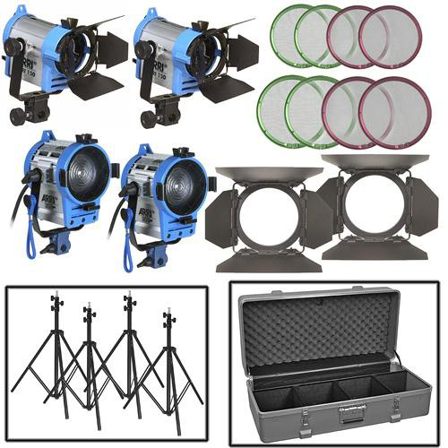 Arri Four-Light Fresnel Mini Kit
