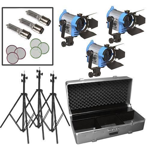 ARRI Fresnel 150 Three-Light Kit