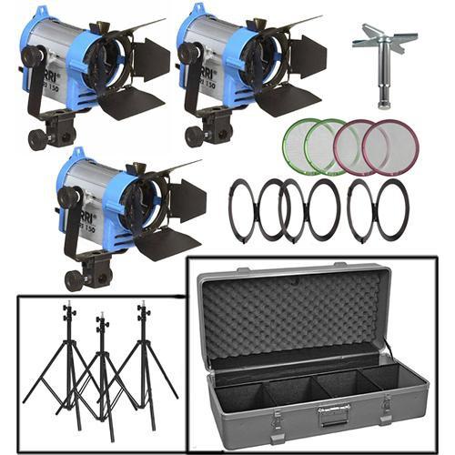 ARRI Fresnel 150 Three-Light Kit (120V)