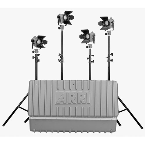 ARRI Fresnel 150W Four-Light Kit