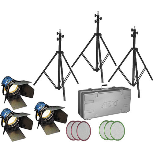 Arri Arrilite 600W Three-Light Compact Kit