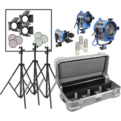 Arri Compact Fresnel Three-Light Kit