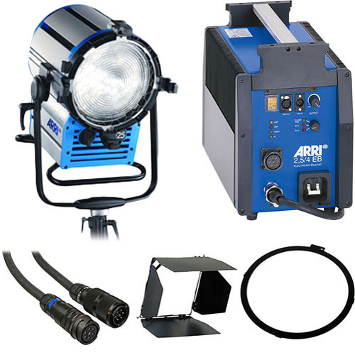 ARRI Compact HMI 2500-Watt Fresnel Light Kit (90-250 VAC)