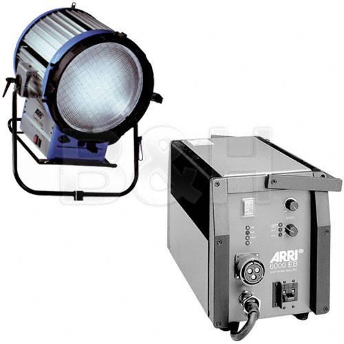 ARRI Compact HMI 6000W Fresnel Light Kit (190-250VAC)