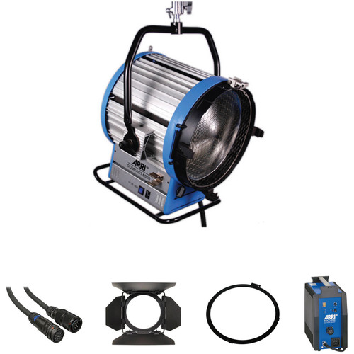 ARRI Compact HMI 6000W Fresnel Light Kit (190-250V)