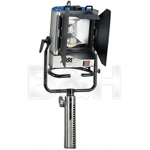 Arri X-5 575W HMI Open Face One Light Kit (90-250VAC)