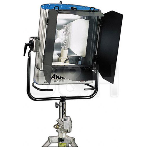 Arri X-60  6KW HMI Open Face 1 Light Kit