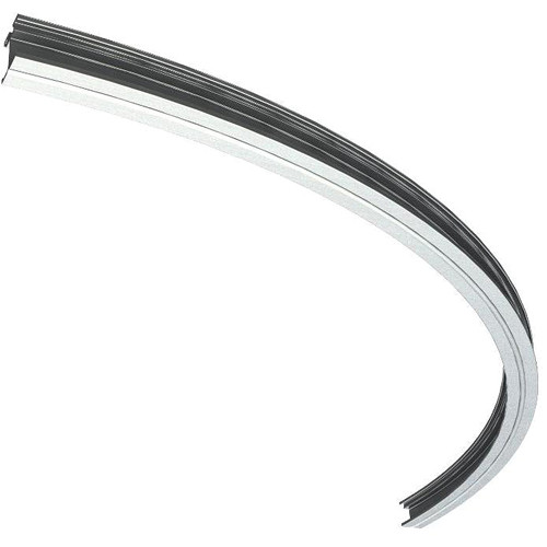 Arri T5 Curved Aluminum Rail - 90 Degree, 7.4' (225 cm) Radius (Silver)