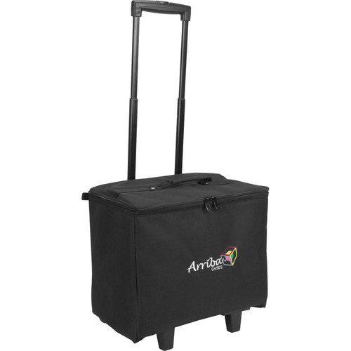 Arriba Cases ACR16 Stackable Rolling Case (Black)