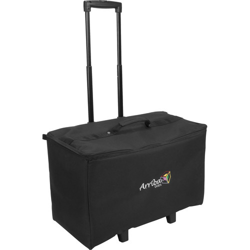 Arriba Cases ACR22 Stackable Rolling Case (Black)