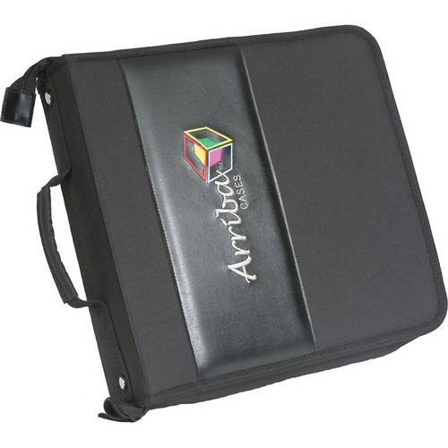 Arriba Cases Durable CD/DVD Case (Holds 200 Discs)