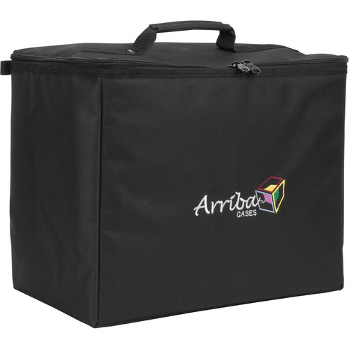Arriba Cases ATP16 Stackable Rolling Case (Black)