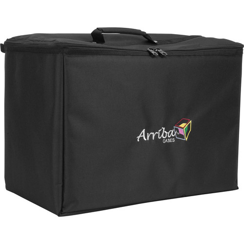 Arriba Cases ATP19 Stackable Rolling Case (Black)