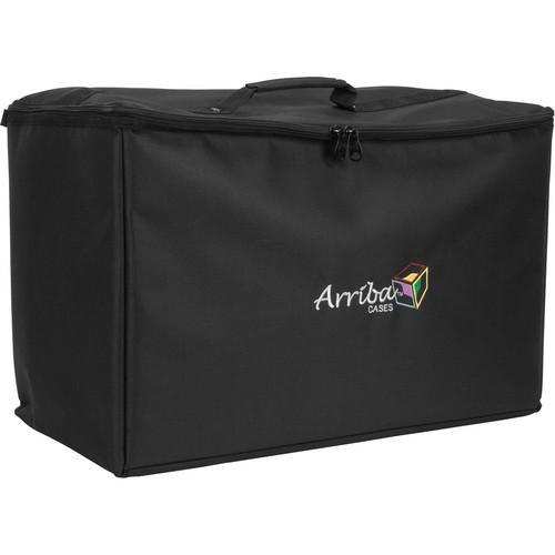 Arriba Cases ATP22 Stackable Rolling Case (Black)