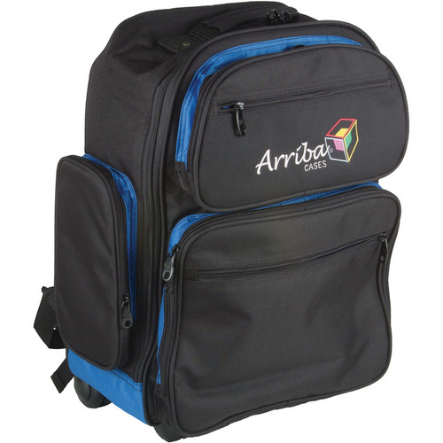 Arriba Cases LS520 Wheeled Backpack (Black)