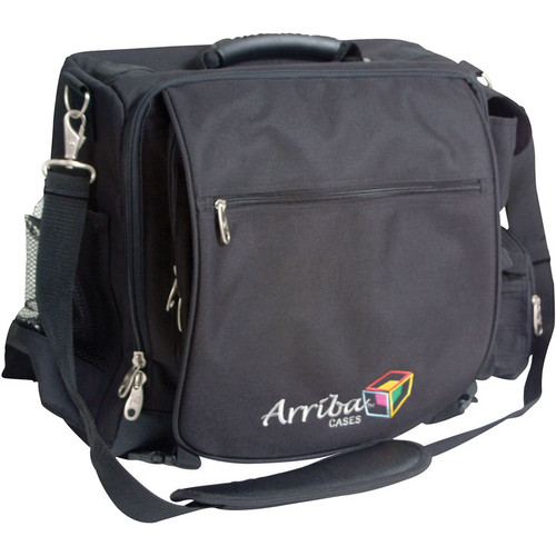 Arriba Cases LS-525 DJ Computer Bag (Black)