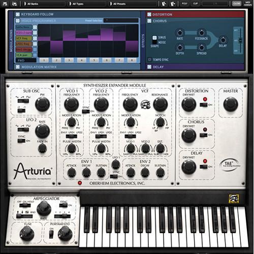 Arturia Oberheim SEM V - Virtual Instrument